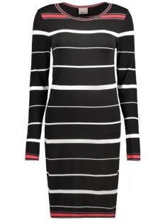 VMSILJE LS SHORT TIGHT DRESS 10180178 Black Beauty