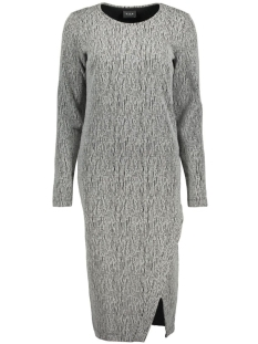 Vila Jurk VINATALY L/S DRESS 14041772 Light grey melange