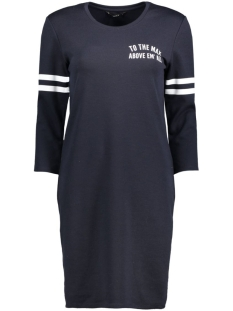 Only Jurk onlNAJA 3/4 SWEAT DRESS JRS 15136331 Night Sky