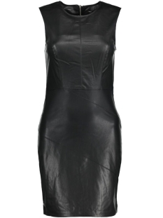 Only Jurk onlTICKET FAUX LEATHER DRESS OTW 15129801 Black
