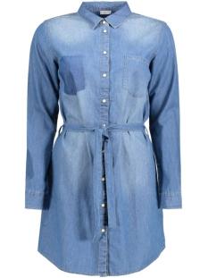 Jacqueline de Yong Tuniek JDYLORINE L/S BELT DRESS WVN NOOS 15129704 Medium Blue Denim