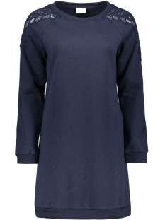 Vila Jurk VIPRIVA SWEAT DRESS 14040589 Total Eclipse