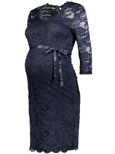 Mama-Licious Positie jurk MLMIVANA 3/4 JERSEY DRESS 20007260 Navy Blazer