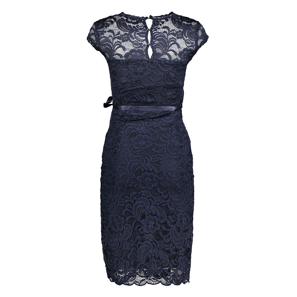 mlnewmivana cap jersey dress 20006241 mama-licious positie jurk navy blazer