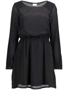 Vila Jurk VIKUNA L/S DRESS 14041749 Black/Lace is To