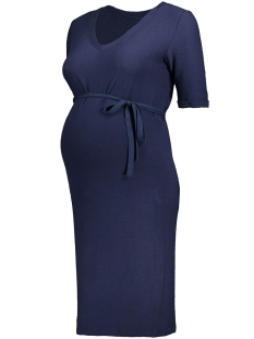 MLELIZA 2/4 JERSEY DRESS 20007221 Navy Blazer