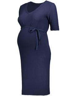 Mama-Licious Positie jurk MLELIZA 2/4 JERSEY DRESS 20007221 Navy Blazer