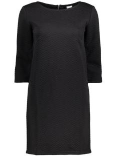 Jacqueline de Yong Jurk JDYMURILLO 3/4 ZIP DRESS JRS 15127276 Black