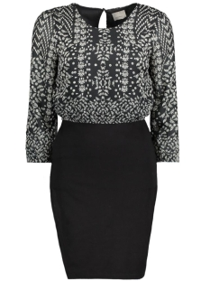 VMJOLEYN 3/4 SHORT DRESS BOO 10167297 Black/Nina Black