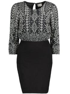 Vero Moda Jurk VMJOLEYN 3/4 SHORT DRESS BOO 10167297 Black/Nina Black