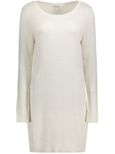 Jacqueline de Yong Jurk JDYSARASOTA L/S DRESS KNT 15126286 Cloud Dancer