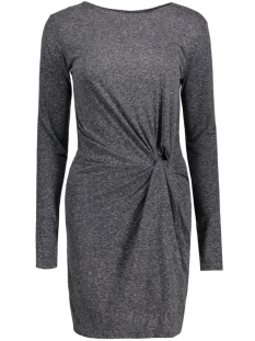 Jacqueline de Yong Jurk JDYZADA L/S DRESS JRS 15127313 Dark Grey Melange