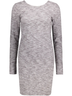 Jacqueline de Yong Jurk JDYIZA L/S DRESS JRS 15127316 Light Grey Melange