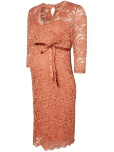 Mama-Licious Positie jurk MLMIVANA 3/4 JERSEY DRESS 20007260 Cedar wood