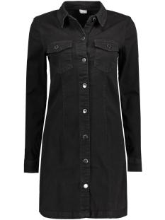 JDYJUICY LS DENIM BLACK DRESS DNM 15129644 Black