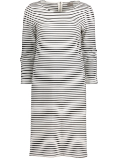 Vero Moda Jurk VMVIGGA 3/4 SLEEVE ABK DRESS 10171987 Snow White