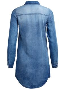 vibista denim dress 14040911 vila tuniek medium blue denim