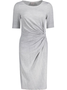 Vero Moda Jurk VMSACHI 2/4 KNOT ABK DRESS JRS 10174606 Light Grey Melange