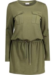 NMCHRISTIAN L/S SHORT DRESS 3X 10177635 Ivy Green