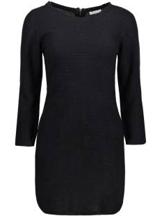 Jacqueline de Yong Jurk JDYMATHISON 7/8 ZIP DRESS KNT 15140311 Black
