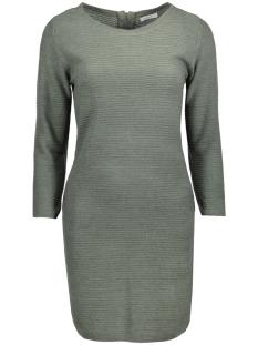 Jacqueline de Yong Jurk JDYMATHISON 7/8 ZIP DRESS KNT 15140311 Balsam Green
