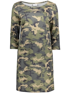 VITINNY PRINTET DRESS 14042573 Ivy Green/Camouflage