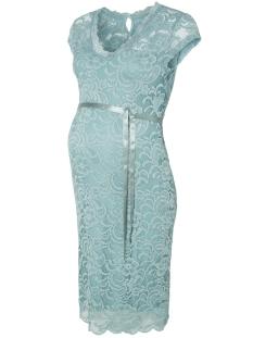 Mama-Licious Positie jurk MLNEWMIVANA CAP JERSEY DRESS 20006241 Mineral Blue
