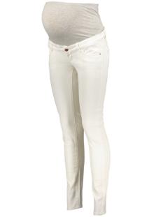 Mama-Licious Positie broek MLSIGGA SLIM PLAIN JEANS 20006891 Antique White