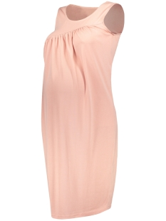 Mama-Licious Positie jurk MLTRINE S/L JERSEY DRESS 20007087 Misty Rose