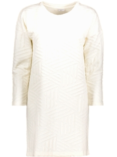 Jacqueline de Yong Jurk JDYFIONA L/S DRESS JRS 15127394 Cloud Dancer