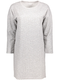 Jacqueline de Yong Jurk JDYFIONA L/S DRESS JRS 15127394 Light Grey Melange