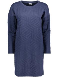 Jacqueline de Yong Jurk JDYFIONA L/S DRESS JRS 15127394 Mood Indigo