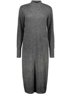 VIGUJO KNIT DRESS 14038627 DARK GREY MELANGE