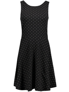onlNIELLA S/L DEEP BACK DRESS BOX E  15134848 Black/ Preppy Dot