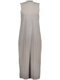 Noisy may Jurk NMHOPE S/L CALF DRESS 4X 10179898 Light Grey Melange