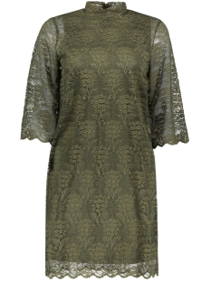 Object Jurk OBJLACEY 3/4 DRESS A 23024625 Ivy Green