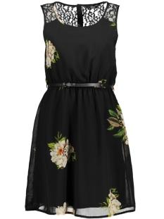 Only Jurk onlJULIE S/L LIA LACE SHORT DRESS W 15144511 Black/ New Flower