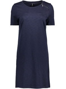 Only Jurk onlNADIA S/S DRESS ESS RP1 15140605 Night Sky