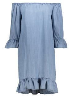 Only Jurk onlSECO LIGHT BLUE SHOULDER DRESS Q 15133863 Light Blue Denim