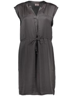 Vero Moda Jurk VMALBANA S/S ABK DRESS D2-4 10179782 Asphalt