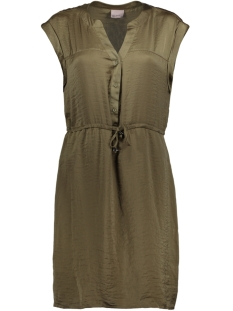 Vero Moda Jurk VMALBANA S/S ABK DRESS D2-4 10179782 Ivy Green