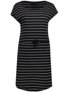Only Jurk onlMAY SS DRESS NOOS 15131969 Black/Thin Stripe