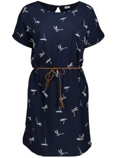 Jacqueline de Yong Jurk JDYEPIC S/S DRESS WVN 15129463 Cloud Dancer/ Epic Dragon