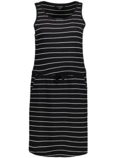 onlMAY SL POCKET DRESS 15136244 Black/Thin Stripe