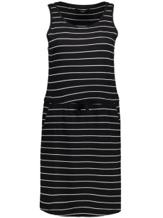 Only Jurk onlMAY SL POCKET DRESS 15136244 Black/Thin Stripe