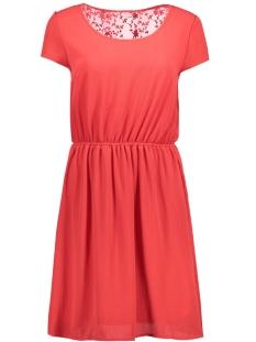 onlGLAM S/S KNEE DRESS WVN 15135278 Poinsettia