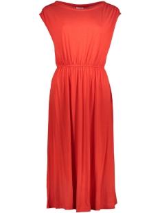Vila Jurk VISAMJA S/L DRESS 14042351 Flame Scarlet