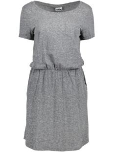Noisy may Jurk NMOLA S/S SHORT DRESS 4 10177196 Dark Grey Melange