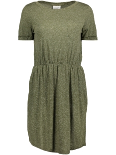 Vero Moda Jurk VMLUA SS SHORT DRESS NOOS 10179907 Ivy Green