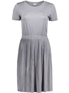 Jacqueline de Yong Jurk JDYNICE S/S DRESS JRS KA 15133509 Light Grey Melange